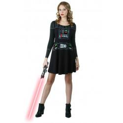 Vestido Fantasia Darth Vader Star Wars