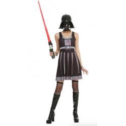 Vestido Fantasia Darth Vader Star Wars Luxo