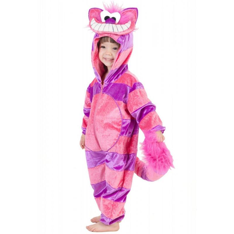 b3ec9db21abb09 Fantasia Infantil Gato de Cheshire Alice no País das maravilhas
