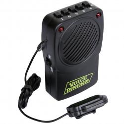 Aparelho Amplificador e mudança de voz com Microfone