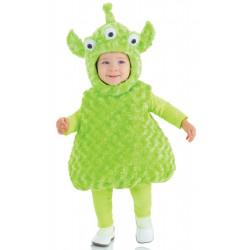 Fantasia Alien Clássica Bebê Parmalat