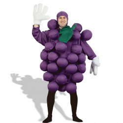Fantasia Adulto Fruta Uva