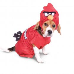 Fantasia para Cachorro Angry Birds Pássaro Vermelho
