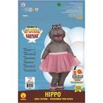Fantasia Inflável de Hipopótamo Bailarina