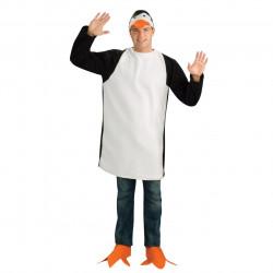 Fantasia Pinguim Madagascar Adulto