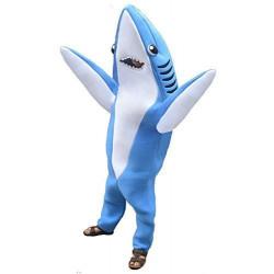 Fantasia Tubarão Adulto Luxo