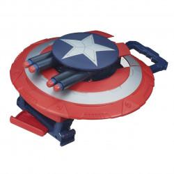 Capitão América Escudo Eletrônico Infantil Soldado do Inverno