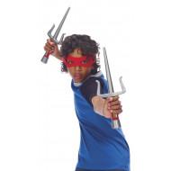 Faca Punhal Tartarugas Ninja Rafael Kit