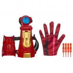 Fantasia IronMan Homem de Ferro Repulsor e Luvas