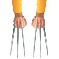 Garras do X Men Wolverine Adulto Cobertas de Adamantium