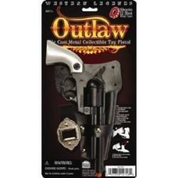 Pistola Arma de Brinquedo Preta Luxo