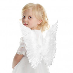 Asa de Penas Luxo Infantil Clássica