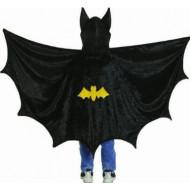 Asa e Capuz Infantil do Batman