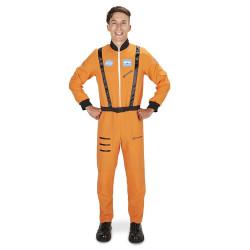 Fantasia Macacão de Astronauta Luxo Adulto