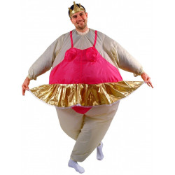 Fantasia Inflável de Princesa Bailarina