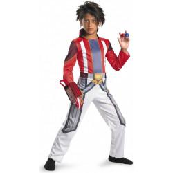 Fantasia Infantil Bakugan Guerreiros da Batalha Luxo