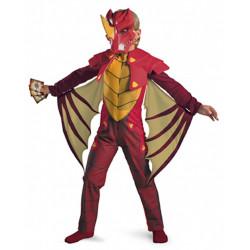 Fantasia Infantil Dragão Bakugan Dragonóide Luxo