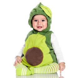 Fantasia Abacate Bebê Parmalat Infantil Luxo