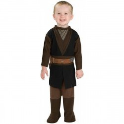 Fantasia Anakin Skywalker Luke Star Wars Bebê