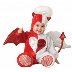 Fantasia Anjo Diabo Bebê Parmalat