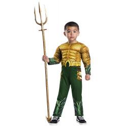 Fantasia Aquaman A Origem da Justiça Bebê Infantil Luxo