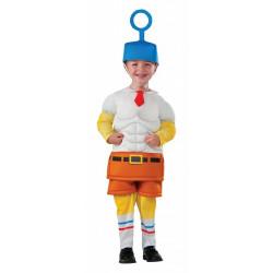 Fantasia Bob Esponja Infantil Luxo Bebê Um Herói Fora da Água