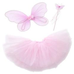 Fantasia Borboleta Rosa Infantil Clássica