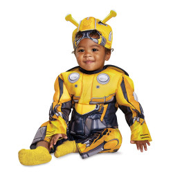 Fantasia Bumblebee Transformers Bebê Elite