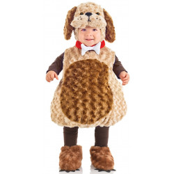 Fantasia Cachorro Clássica Bebê Parmalat