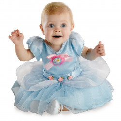 Fantasia Cinderela Luxo Bebê