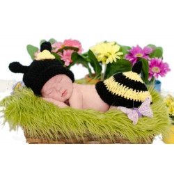 Fantasia Crochet Artesanal Abelha