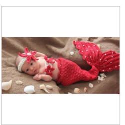 Fantasia Crochet Artesanal Sereia Ariel