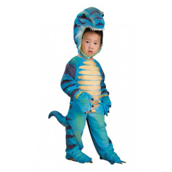 Fantasia Dinossauro Azul Infantil Bebê