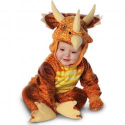 Fantasia Dinossauro Triceratops para Bebês
