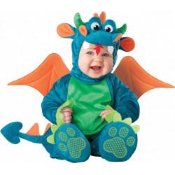 Fantasia Dragão Dinossauro Bebê Parmalat