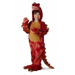 Fantasia Dragão Dinossauro de 3 Cabeças Luxo