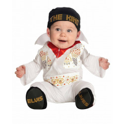 Fantasia Elvis Presley Bebê