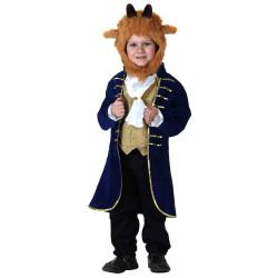 Fantasia Fera da Bela e a Fera Infantil Disney Clássica