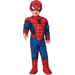 Fantasia Homem Aranha Infantil com Músculos Nova