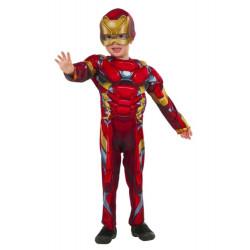 Fantasia Homem de Ferro Bebê Infantil