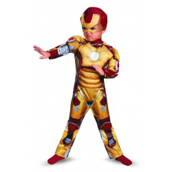 Fantasia Homem de Ferro Bebê Mark 42