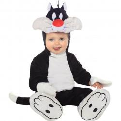 Fantasia Infantil Bebê do Frajola da Looney Tunes