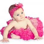 Fantasia Infantil Bebê Tutu Bailarina Pink