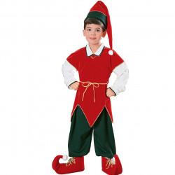 Fantasia Infantil Elfo Mágico Duende do Papai Noel Natal