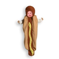 Fantasia Infantil Hot Dog Cachorro Quente Bebê
