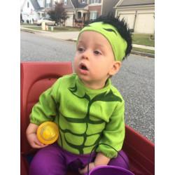 Fantasia Infantil Hulk Bebê
