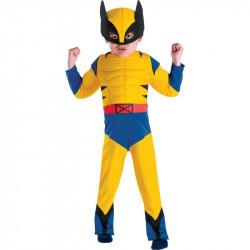 Fantasia Infantil Luxo Wolverine