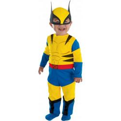 Fantasia Infantil Luxo Wolverine Bebê