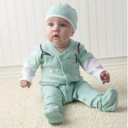 Fantasia Infantil Médico Doutor Bebê Elite