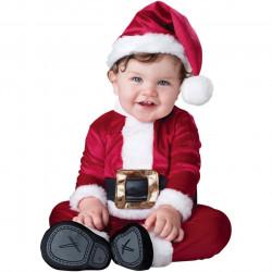 Fantasia Infantil Papai Noel do Natal Clássica